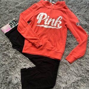 Victoria's Secret Pink Hoodie/Yoga Pants